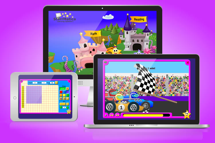 StarrMatica K-2 e-Learning Games